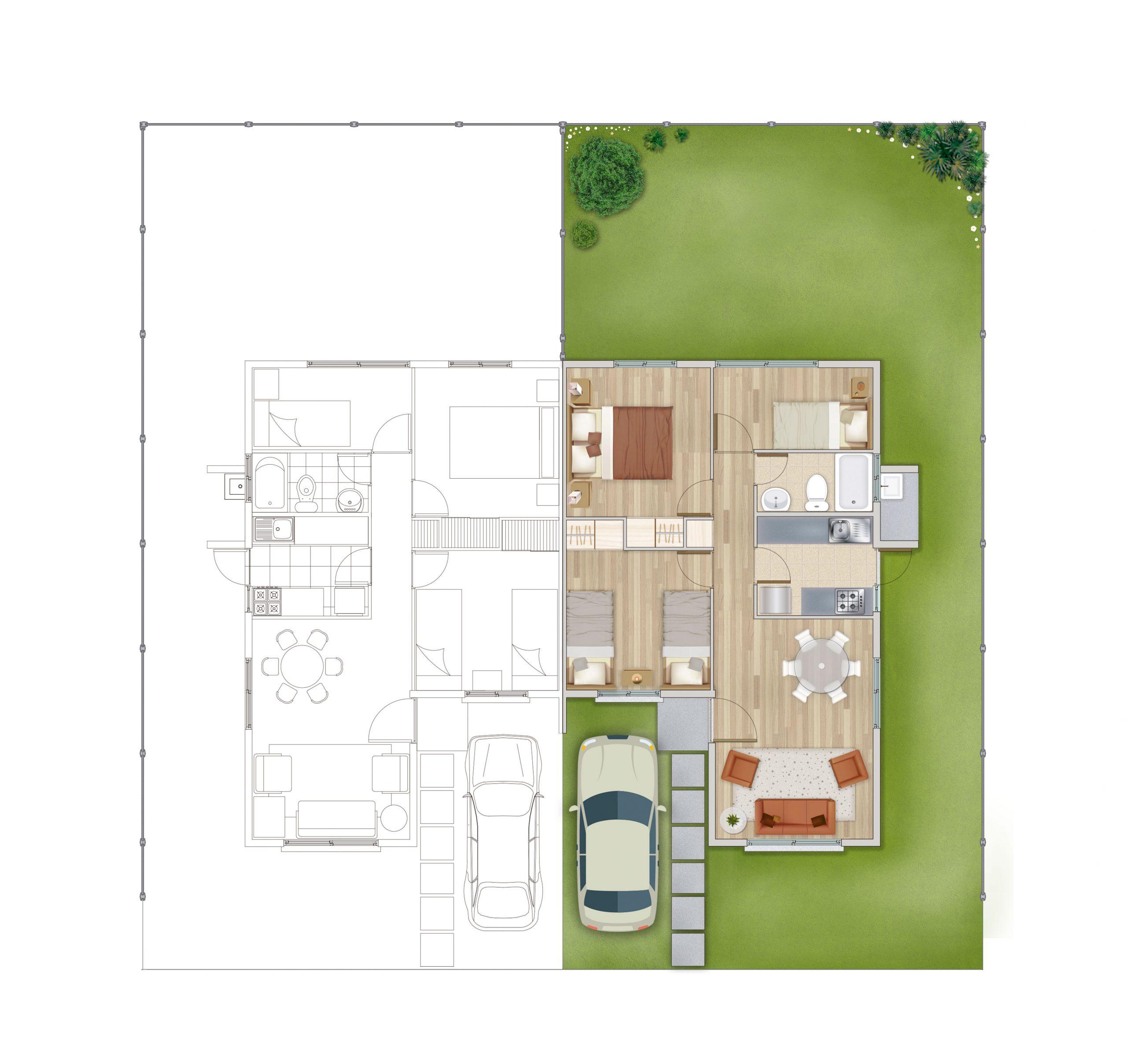 casas modelo almendro portal san ramón